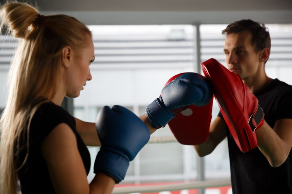 personal boxing lesson