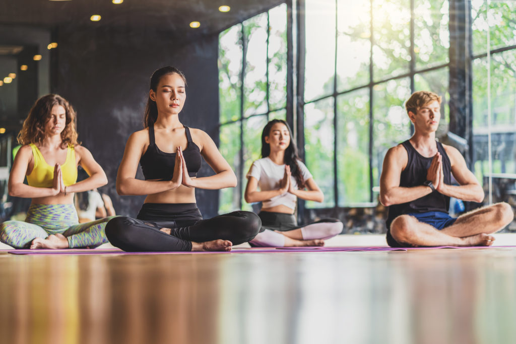 yoga classes at O Athletik