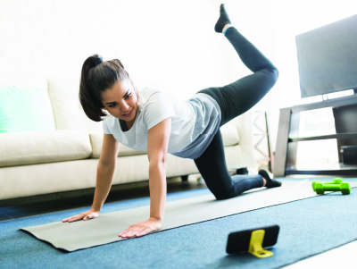 best at-home workout tips