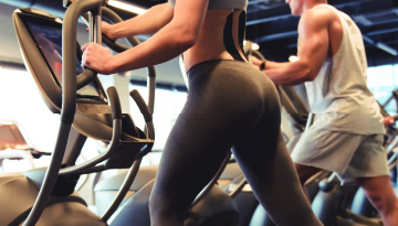 cardio with glutes